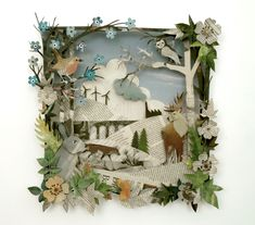 (UK ARTIST) Helen Musselwhite - has done a lot in marketing/tv - Amazing papercraft - Gallery? 3d Paper Art, 3d Paper Crafts, Paper Artwork, Cut Paper, Paper Cut Outs, Paper Cutting Art, Paper Artist, Kirigami, 3d Cuts