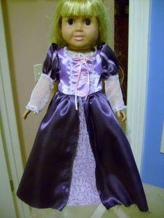 Rapunzel from Disney Tangled by Dollclothesbysal on Etsy