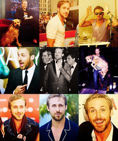 The many faces of Gosling...