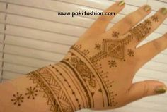 The simple Moroccan designs for beginners with video at http://pakifashion.com/simple-moroccan-henna-mehndi-design/