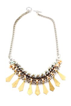 Candy Corn Threaded Necklace. by henbygen on Etsy, $169.00