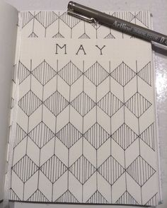 Monthly May #bulletjournal #bujo #bulletjournaling