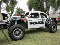 VW Beetle Baja Police