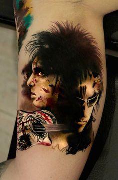 Pavel Krim tattoo