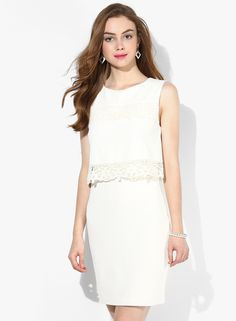 Buy Miss Selfridge White Colored Solid Bodycon Dress Online - 3715416 - Jabong Best Online Fashion Stores, Online Shopping Sites, Lakme Fashion Week, Buy Shoes, Shoe Brands, Miss Selfridge, Bodycon Dress, India, Clothes