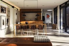 Woonkamer van Deense bungalow villa | HOMEASE