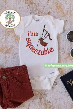 Scottish or Irish bodysuit. Makes a great baby shower gift. Size newborn  through 24 bc42328fbeb6