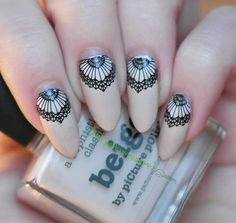 Mielenmaisemia - Beige Nail Art, Beige, Nails, Beauty, Finger Nails, Ongles, Nail Arts, Beauty Illustration, Nail Art Designs