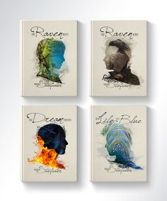 This time around, Meg decided to reimagine Maggie Stiefvater's Raven Cycle Quartet. Stunning! Check it out on Cuddlebuggery...