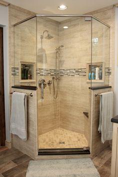 35 best glass corner shower images home decor future house rh pinterest com