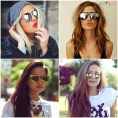 Mulherzinha Feminina: Tá na Moda: Óculos Espelhado