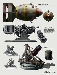 Artillery Concepts - Fallout 4