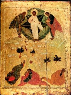 Andrei Rublev ~ Transfiguration of Jesus, 1405