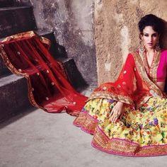 152 Lehenga, Sari, Collection, Fashion, Saree, Moda, Fashion Styles, Fashion Illustrations, Saris