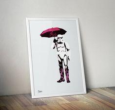 Nå er sommeren her så nå kan vel Storm kanskje kaste paraplyen sin?