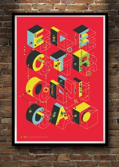 ELECTRONICA by Neil Stevens, via Behance Typography Letters, Typography Poster, Typography Design, Lettering, Nature Prints, Bird Prints, Typography Inspiration, Graphic Design Inspiration, Graphic Design Layouts