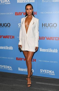 Ilfenesh Hadera - The Cinema Society Screening of Baywatch in NY on May 22