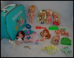 Little Kiddle Dolls | ... vintage lot liddle kiddle DOLLS & CLOTHES mattel 1960's little case