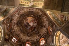 """Cúpula da Basilica di San Vitale - """"Ravenna, a cidade dos mosaicos"""" by @blogteritorios"""