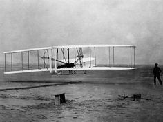 On December 17, 1903, Orville Wright became the first person to successfully fly a heavier-than-air machine under complete control of the pilot.