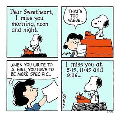Advice from Lucy. 💌