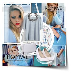 """romwe"" by lejla-djerzic ❤ liked on Polyvore"