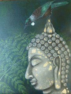 Buddha with tui