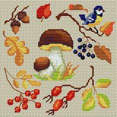 Cross-stitch Autumn's here!~~Cross Stitchers Club
