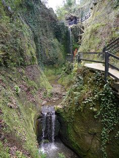 Shanklin Chine, Shanklin, Isle of Wight Isle Of Wight, Water Features, Waterfalls, Great Britain, Rivers, Wales, My Dream, Scotland, Ireland