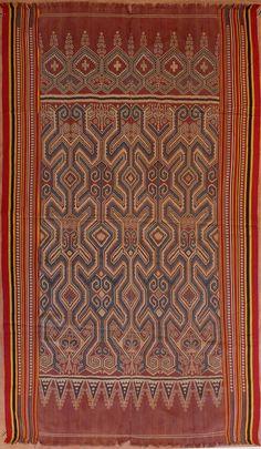 Textile : Asie, ikat
