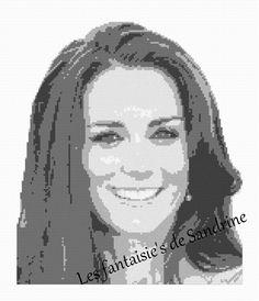 Grille point de croix Kate M. : Broderie par les-fantaisie-s-de-sandrine