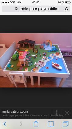 Table playmobile