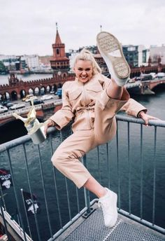 Ganni street style | Astrid S. | Phillips Cotton Jacket and Phillips Cotton Onepiece