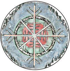 Cold Moon - Spirit de La Lune Oracle deck coming soon! Moondaughter and Treetalker Art