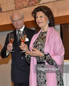King Carl Gustaf and Queen Silvia. 23-5-2017