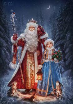 winter card by Makusheva.deviantart.com on @DeviantArt