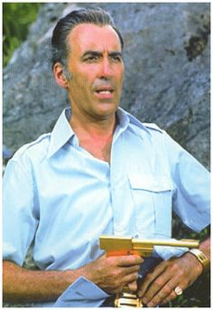 The Man with the Golden Gun. Its a pity Christopher Lee was in this film. He is one of the best Bond villain of all times. I put him in the Top 5 easily!