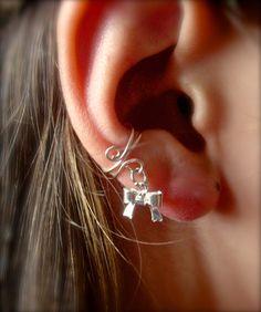 Ear Cuff Dainty and Feminine Silver Ear Cuff with by jhammerberg, $8.95