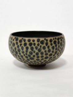 Harrison McIntosh. bowl with dots