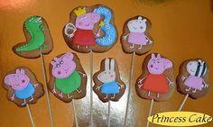 #имбирныепряники #пряники #свинкапеппа #Пеппа #cookies #princesscakekievua