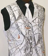 camo tuxedos for weddings formal camo winter snow white realtree hardwoods camouflage vest