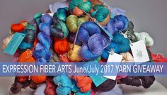 My dear, it's time for another big yarn giveaway. Do scroll down to drool over all the lovelies and then get yourself entered! To ENTER: Use Rafflecopter below to enter and then comment on th…