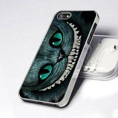 CDP 0735 Alice Wonderland Cheshire Cat Smile design for iPhone 5 case