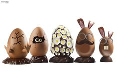 Oeufs Chocolat Paques Christophe Roussel, Easter 2020, Easter Chocolate, Egg Art, Easter Treats, Easter Eggs, Artisan, Candy, Baking