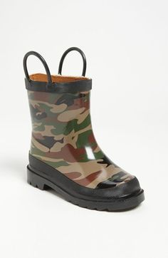 Western Chief 'Camo' Rain Boot (Walker, Toddler, Little Kid & Big Kid) available at #Nordstrom