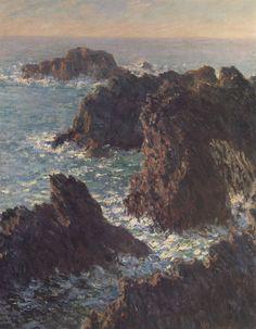 Monet mar y rocas