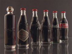Coca-Cola Evolution. Happy Birthday Coca-Cola. Soft drink was first sold to the public at the soda fountain in Jacob's Pharmacy in Atlanta on May 8, 1886.