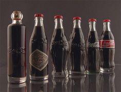 Coca-Cola : Evolution packaging of Coca Cola