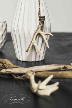 SARVIKORISTE - www.nemilla.fi #sarvet #poronsarvi #joulukoriste Antlers, Clothes Hanger, Horns, Coat Hanger, Clothes Hangers, Clothes Racks, Deer Heads, Deer Horns, Deer Antlers