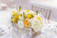Box Wedding Flowers